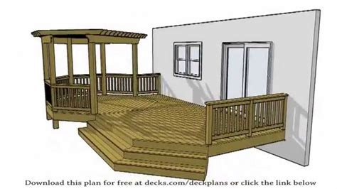 Deck Plans 100 S Of Free Plans Available For The Diy Patio Plans Free Design