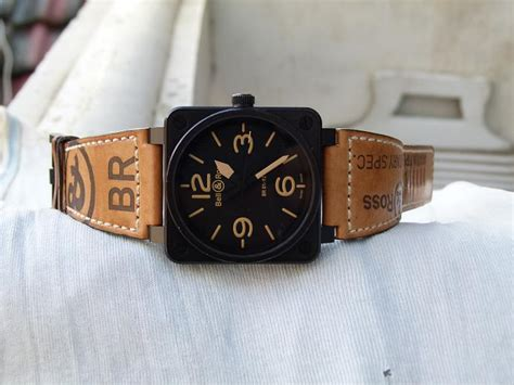 Jam Tangan Bell Br0194 Bl Heritage jam tangan for sale bell ross heritage br 01 92 pvd sold