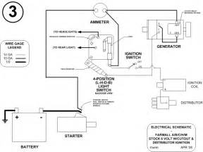 farmall h wiring diagram 12 volt farmall free wiring diagrams