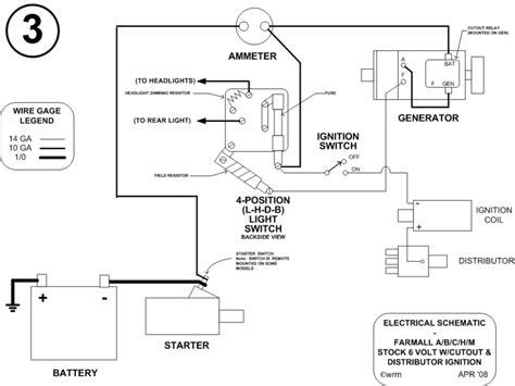 farmall m wiring diagram magneto for farmall c wiring diagram wiring diagram with