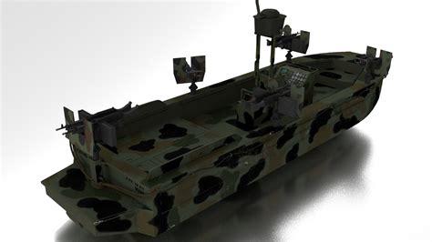 navy seal model 3d boat navy seals model