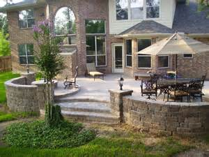raised paver patio with bench seating and lighting yelp