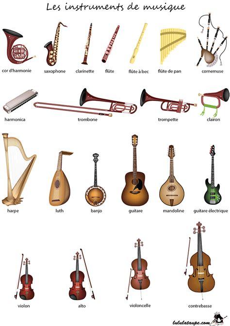 les instruments de musique de la famille des cuivres fiche p 233 dagogique 224 imprimer les instruments de musique