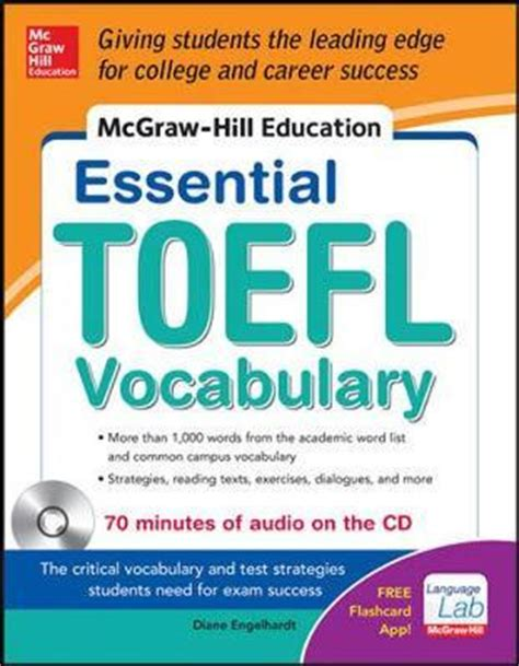 mcgraw hill education essential vocabulary for the toefl