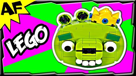 Lego Angry Birds King Pig king pig lego angry birds animated review with building