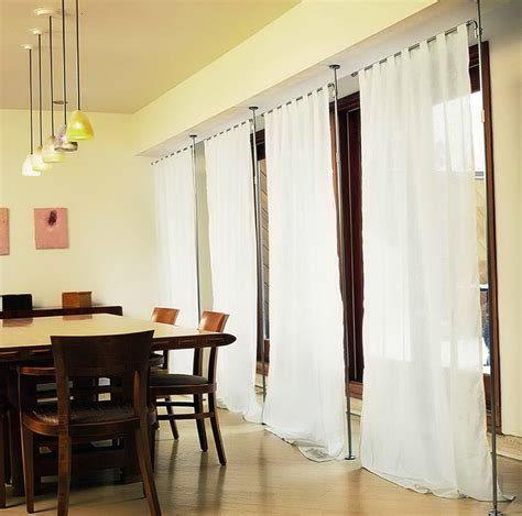 curtain room dividers tracks single track system medium