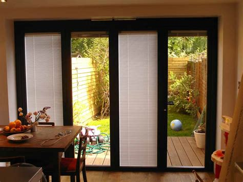 blinds and curtains for patio doors create an intimate space with patio door blinds we bring