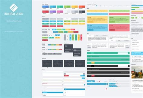 material design mockup kit top 10 free bootstrap ui kits for customizing your layouts