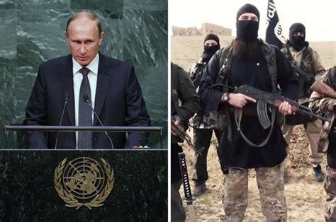 putin islamic state fight russian putin blasts west for failing to fight islamic state