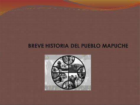 breve historia poltica del breve historia del pueblo mapuche