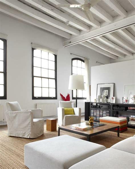 loft design inspiration barcelona barcelona home poutre apparente comment l int 233 rgrer dans votre int 233 rieur