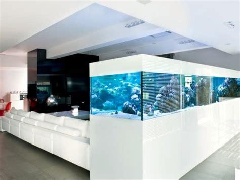 interior design aquarium wall 100 ideas integrate aquarium designs in the wall or in the
