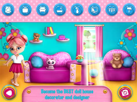 app shopper dream house design game for girls games app shopper my doll house games for girls dream