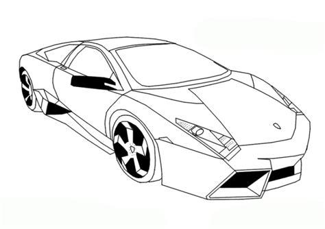 Ausmalbilder Lamborghini Malvorlagen ausdrucken 1
