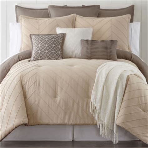home expressions arden 10 pc comforter set jcpenney