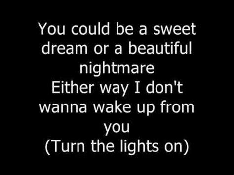 sweet dreams marilyn testo beyonce sweet dreams lyrics on screen in info