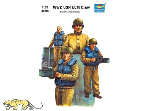 Trumpeter Model 1 35 Ww2 Usn Lcm Crew Scale Hobby 00408 P0408 ww2 usn lcm crew 1 35 trumpeter tru00408 axels