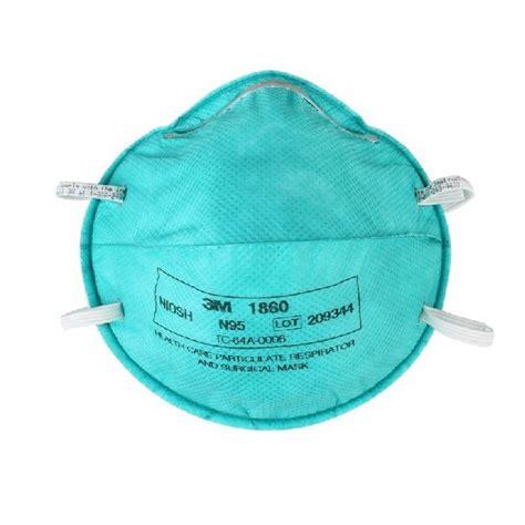 Masker Medis 3m masker bedah medis n95 respirator 1860 120 ea