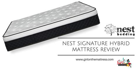 Mattress Reviews Ratings by Nest Hybrid Mattress Review On The Mattress