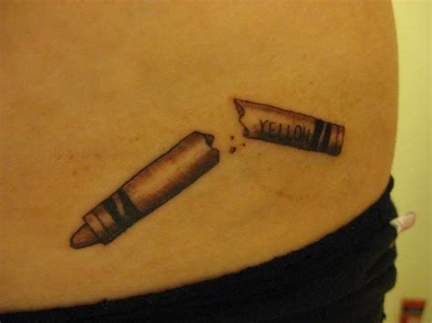 crayon tattoo 586 best images about my buffy the slayer pins