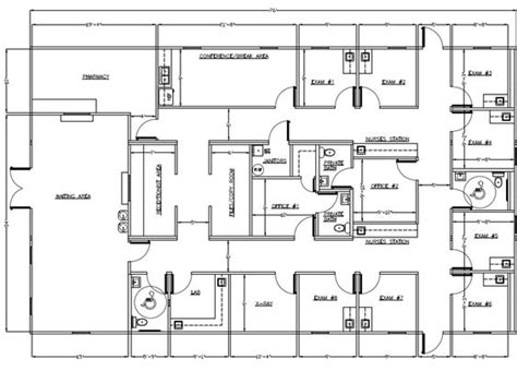 Small Medical Office Floor Plans medical office layout sample floor plans and photo