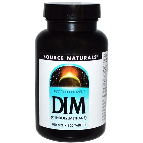 n r supplement source naturals dim diindolylmethane 100 mg 120