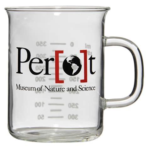 Printed Glass Mug latte lab glass mugs custom printed promotional items