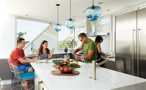 blue pendant lights kitchen modern lighting modern color trends