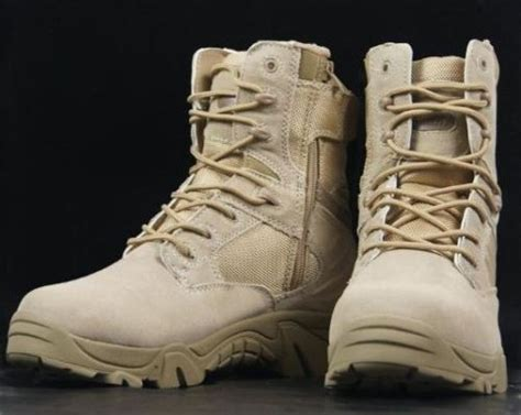 Sepatu Delta Tactical Desert 6 Boot Made In Usa delta army boot desert tactical boot genuine leather shoes in s boots from