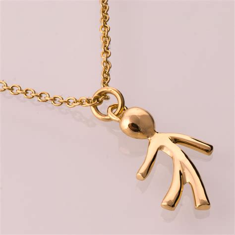 child pendant 14k gold pendant boy gold pendant