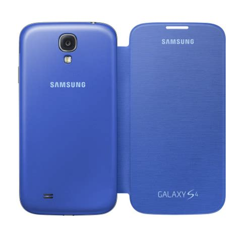 galaxy s4 light genuine galaxy s4 flip case cover light blue