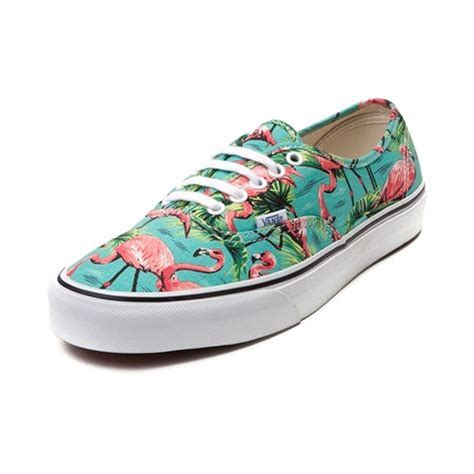 Flamingo Stripe Collar Top Shop For Vans Authentic Doren Flamingo Skate Shoe