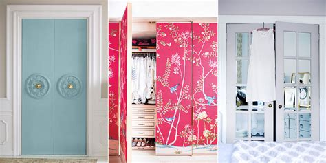 cute ways to decorate your bedroom door how to make over your closet doors designer closet door