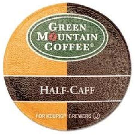 gmcr half caff k cups