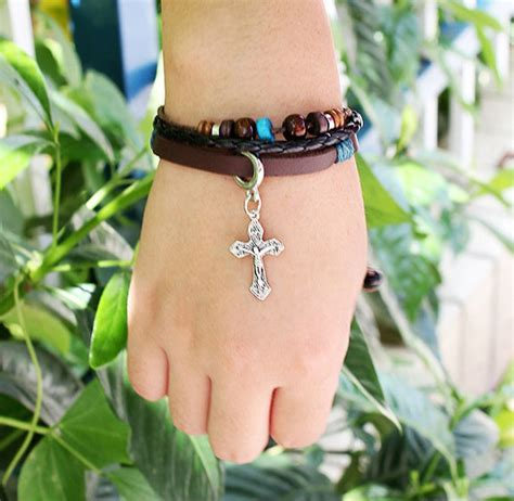 New Design Item Valentino Infinity Butterfly Studed Smooth Leather fashion beaded cross jesus bracelet 183 183 store powered by storenvy