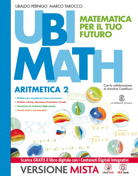 test ingresso matematica seconda media ubimath