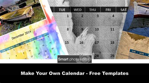 Make Your Own Calendar Free Templates On Vimeo Free Make Your Own Calendar Templates