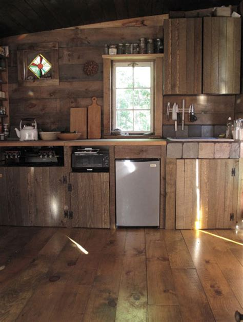 Cabin Cabinets Kitchen by Tour Of A Tiny Cabin In Delhi New York