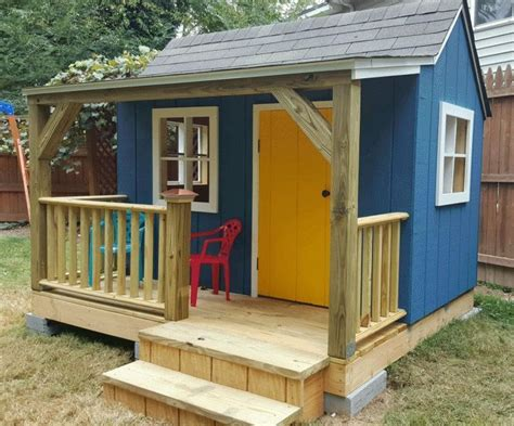 playhouse plans  kids  love   kids
