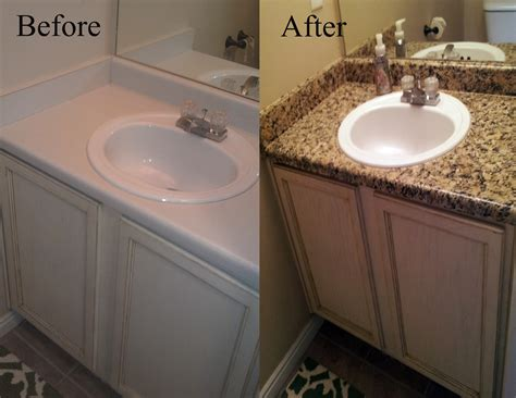 paint bathroom countertop delleydew painted faux granite countertop