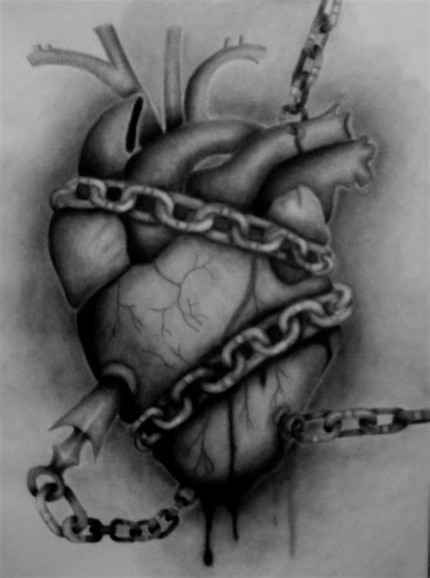 Chained Heart by KevinxMorpheus on DeviantArt