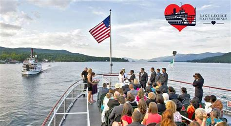 boat wedding packages you could win a 15 000 lake george boat wedding package