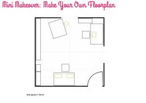 create your own floor plans mini makeover make your own floorplan style for a happy home