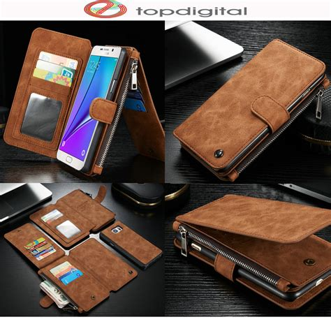 Caseme Samsung Galaxy Note 5 Note5 Wallet Leather caseme genuine leather wallet for samsung galaxy note