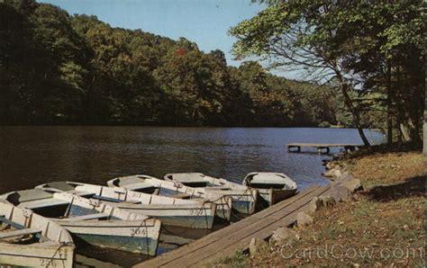 boat dock nj boat dock at surprise lake union county nj postcard