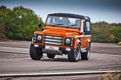 original land rover defender attack is the best form of defender meet the 475bhp zulu 178