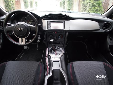 subaru brz custom interior review 2013 subaru brz ebay motors blog
