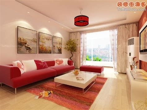 Luxury Living Room Interior Design Ideas With Red Sofa How To Decorate Living Room With Sofa