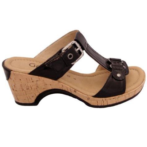 gabor comfort range gabor shoes fragrance slip on mule shoe in black patent