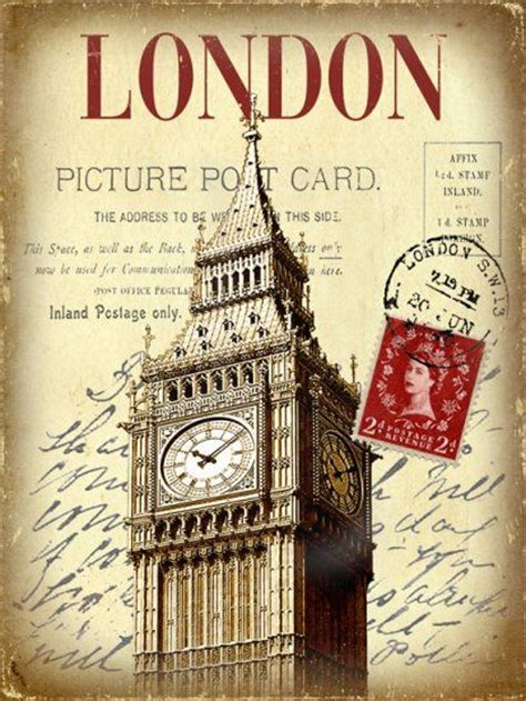 printable travel postcards london picture postcard ldn pinterest big ben